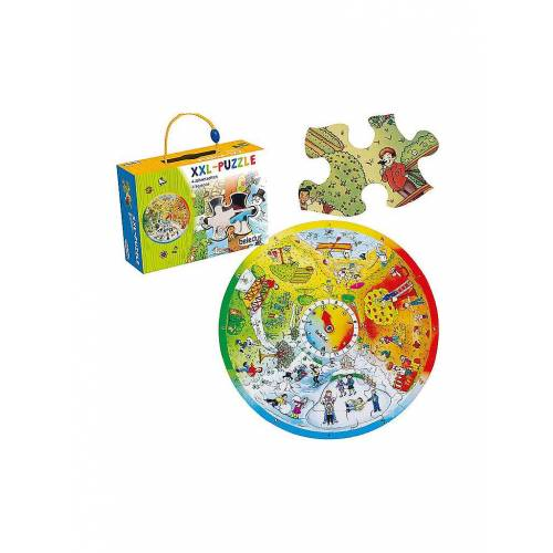 BELEDUC XXL Lernpuzzle 4 Jahreszeiten