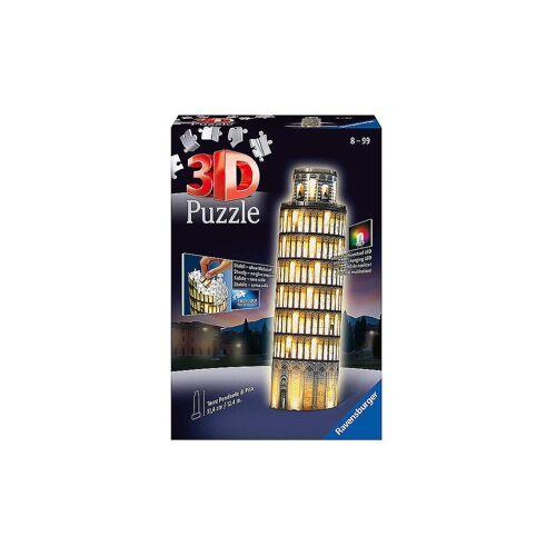 RAVENSBURGER 3D-Puzzle - Pisa bei Nacht