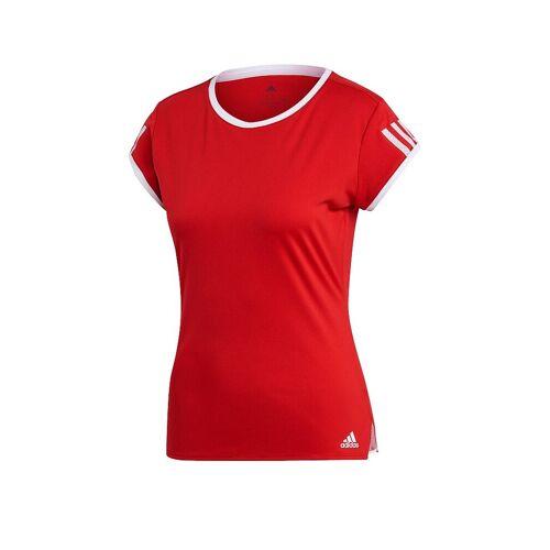 Adidas Damen Tennisshirt Club rot   L
