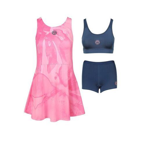 BIDI BADU Damen Tenniskleid Youma Tech 3in1 pink   S