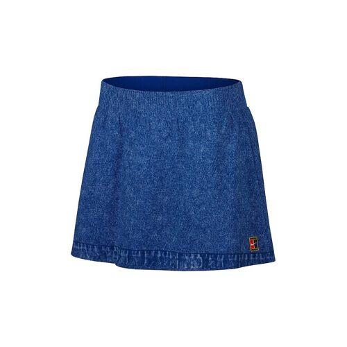 NIKE Damen Tennisrock Dri-FIT Slam blau   L