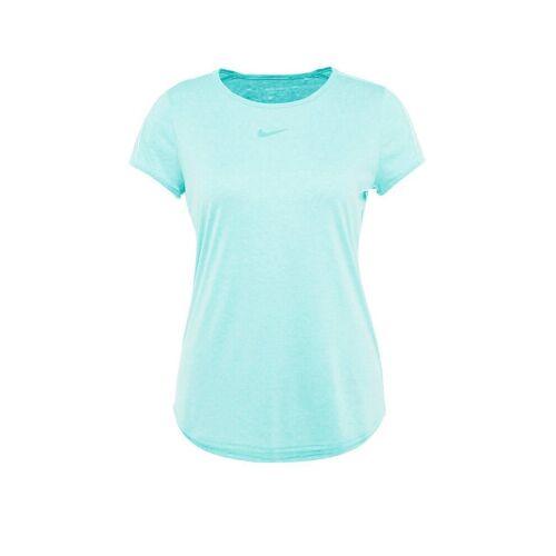 NIKE Damen Tennisshirt Dri-FIT türkis   M