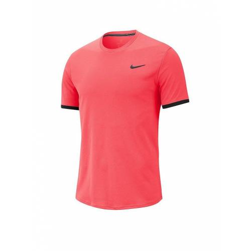 NIKE Herren Tennisshirt Dri-FIT rot   S