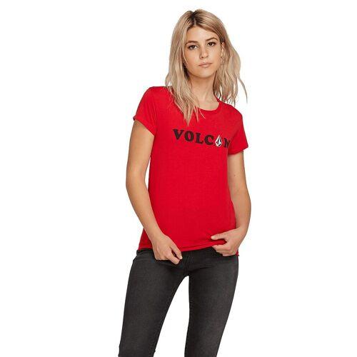 VOLCOM Damen Beachshirt Easy rot   XS