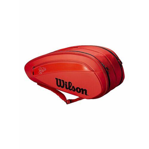 WILSON Tennistasche Federer DNA 2018 12er Pack rot