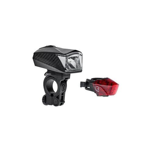 Cube Fahrrad Beleuchtungsset Tour 30 schwarz