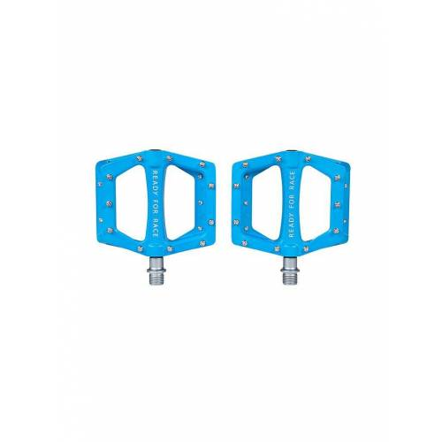 Cube Fahrradpedal Flat CMPT blau
