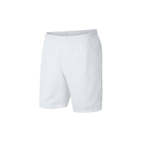 NIKE Herren Tennisshort Dri-FIT weiß   M