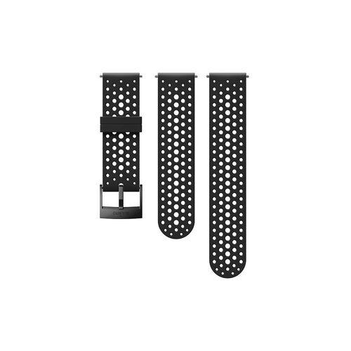 SUUNTO Ersatz-Silikonarmband schwarz