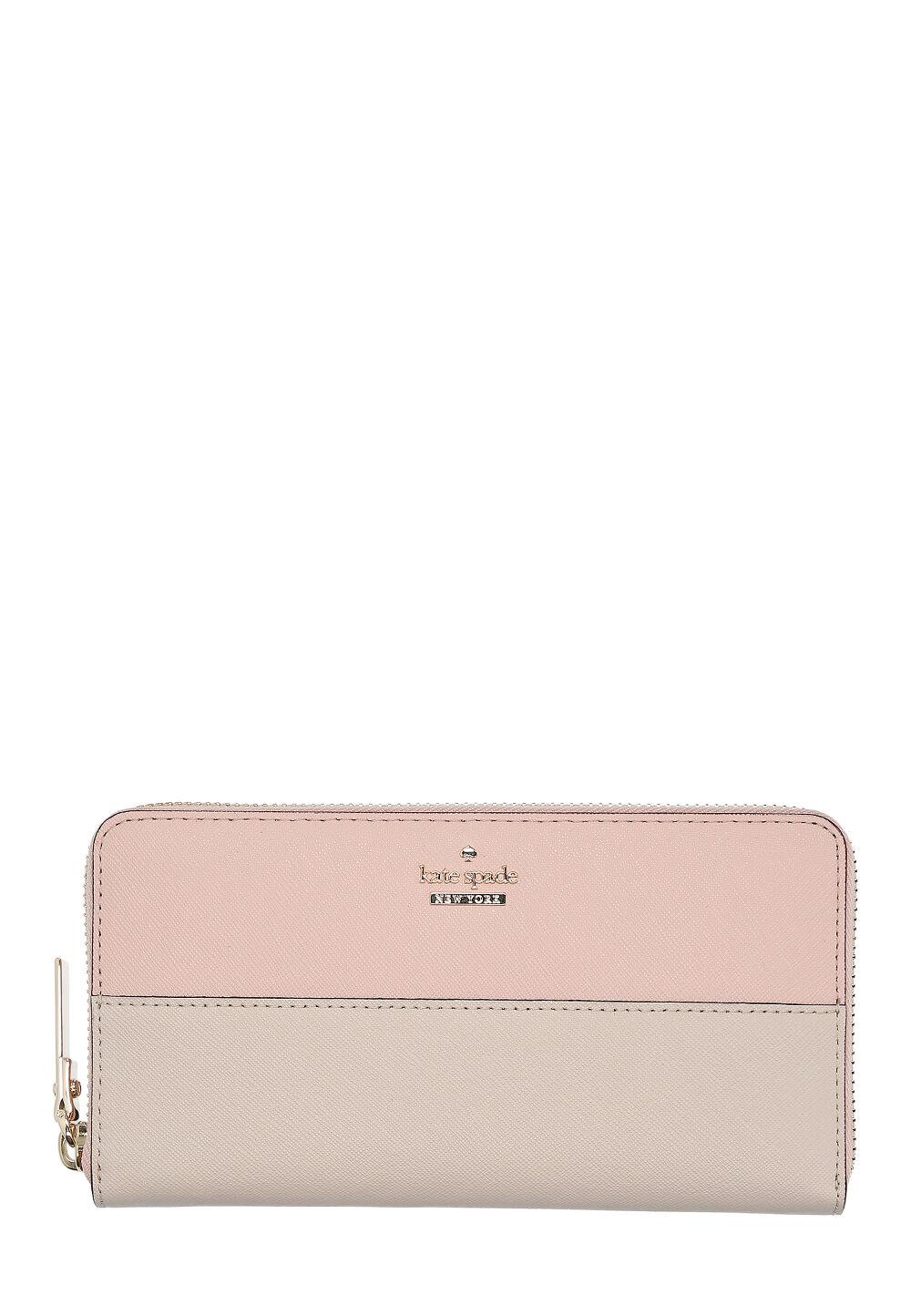 c54e8f16360b20 Kate Spade Portemonnaie Cameron, Leder, B19 x H10 x T2 cm rosa