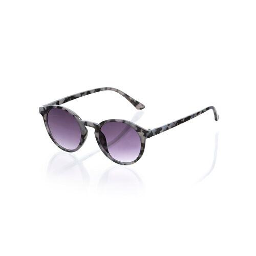 Alba Moda Sonnenbrille in Leo-Optik, grau