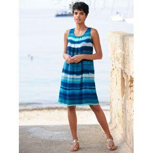 Alba Moda Strandkleid im Farbverlauf, blau