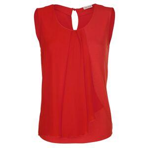 Alba Moda Shirt mit Chiffon, orange