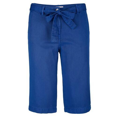 Alba Moda Bermuda mit lässigem Bindegürtel, blau