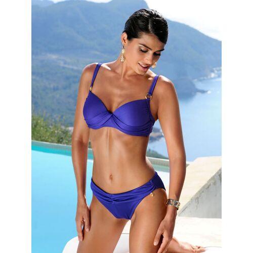 Opera PushUp-Bikini mit Rippmuster, blau