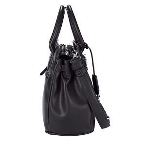 Picard Handtasche mit Zierband und Drehverschluss, schwarz