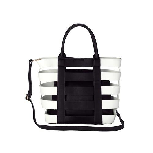 Collezione Alessandro 2-tlg. Handtaschenset aus hochwertigem Softmaterial, bicolor