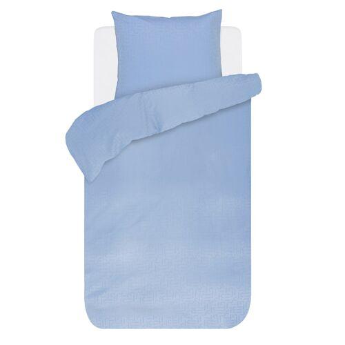 Esprit Satin Bettwäsche 'Tomia', blau