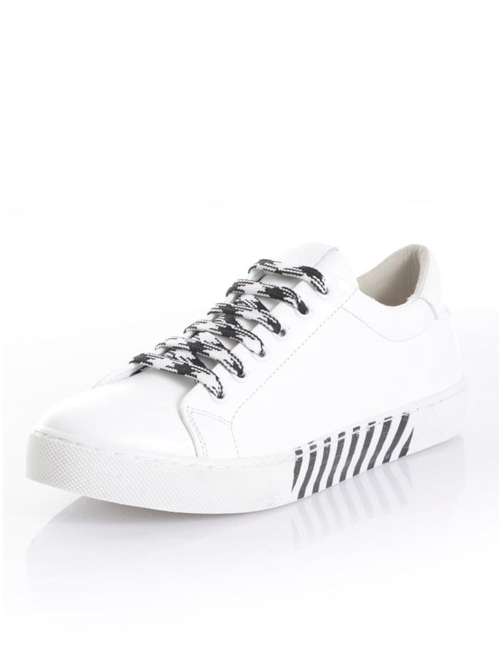 Alba Moda Sneaker in schlichter Form, weiß