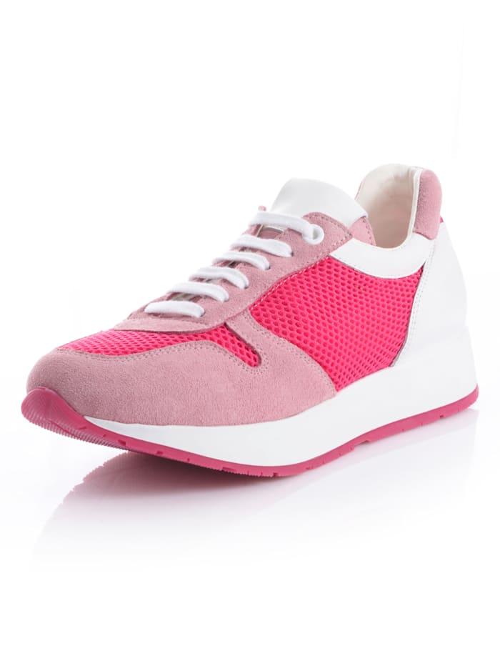 Alba Moda Sneaker in femininer Farbstellung, rosé
