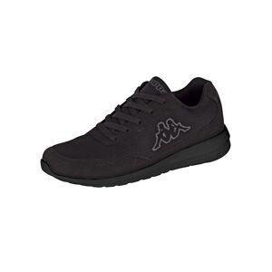 Kappa Sneaker in Mesh-Optik, schwarz