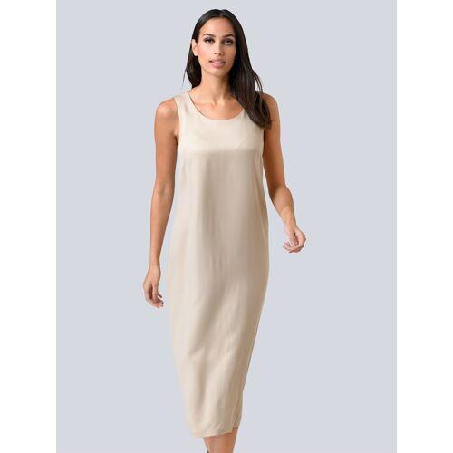 Alba Moda Kleid in edler Qualität, beige