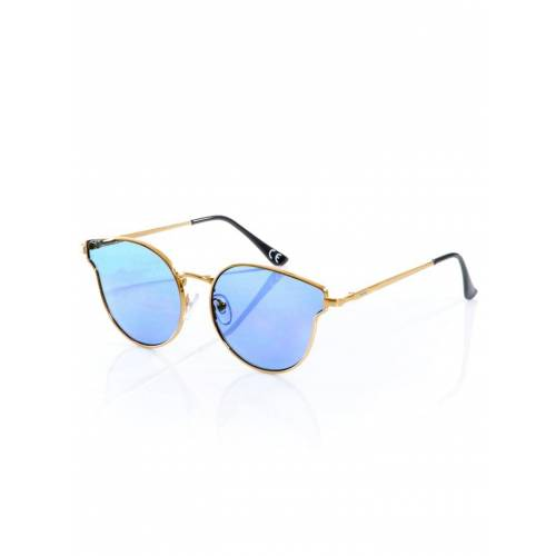 Alba Moda Sonnenbrille in Cateye-Form, blau