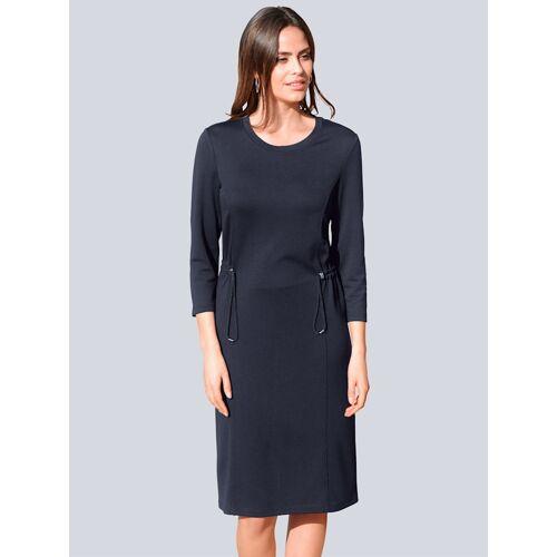 Alba Moda Kleid mit Tunnelzug, blau