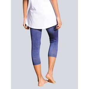 Alba Moda Caprilegging in Used-Optik, blau