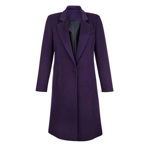 Alba Moda Mantel in sehr weicher Qualität, lila