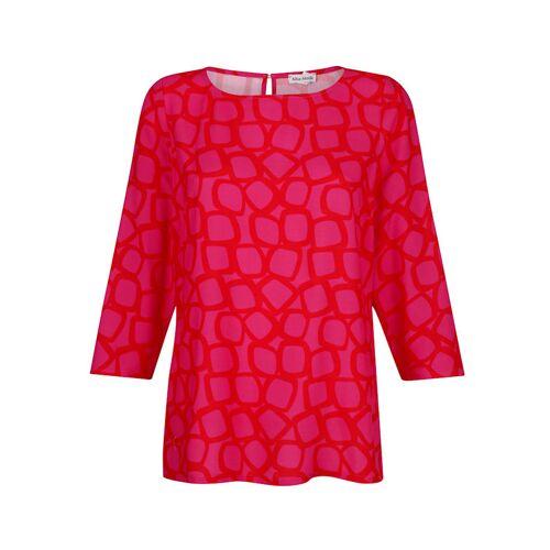 Alba Moda Bluse im modischen Druck, rot
