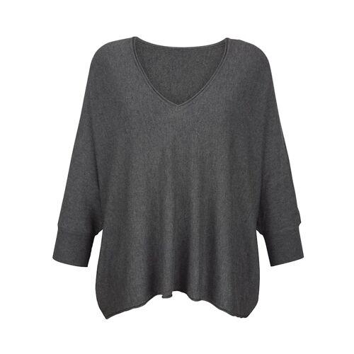 Alba Moda Pullover in lässiger Form, grau