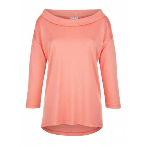 Alba Moda Shirt mit Umlegekragen, orange