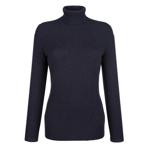 Alba Moda Pullover aus hochwertigem Kaschmir, blau