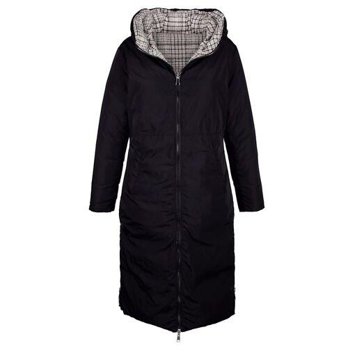 Alba Moda Mantel mit Wendemöglichkeit, schwarz