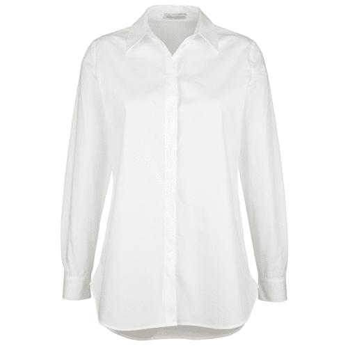 Alba Moda Bluse in Oversized Form, weiß