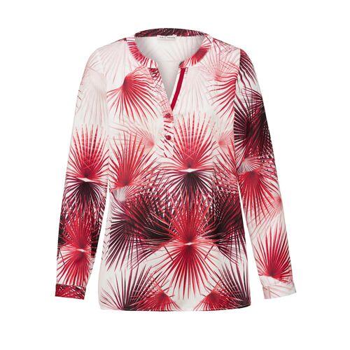 Alba Moda Bluse aus edel glänzender Ware, weiß