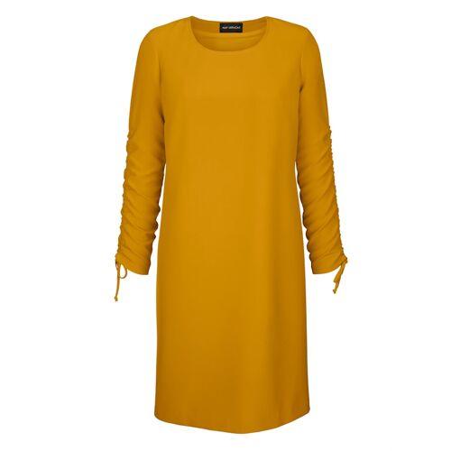 AMY VERMONT Kleid mit variabel tragbaren Ärmeln, gelb
