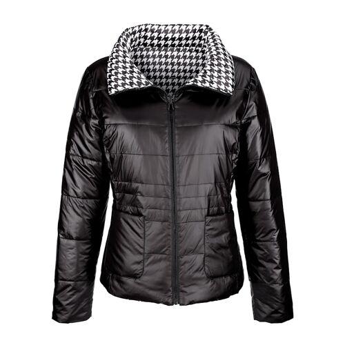 Alba Moda Jacke mit Wendemöglichkeit, schwarz