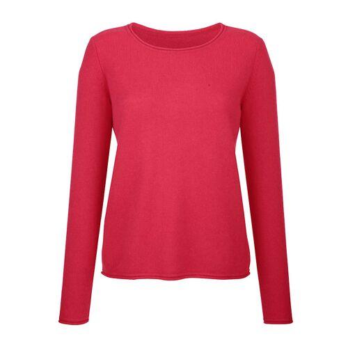 Alba Moda Pullover aus hochwertigem, 4-fädigem Kaschmir, rosé