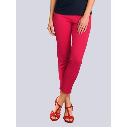 Alba Moda Hose in modischer Farbe, rot
