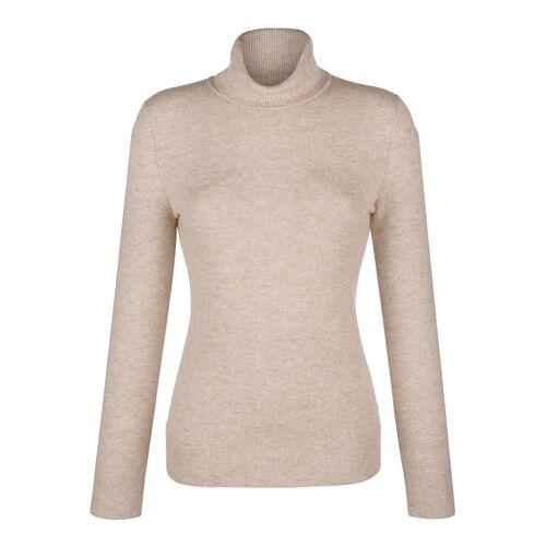 Alba Moda Pullover aus hochwertigem Kaschmir, beige