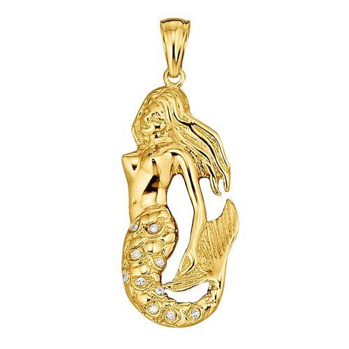 Diemer Diamant Anhänger mit Diamanten, gold