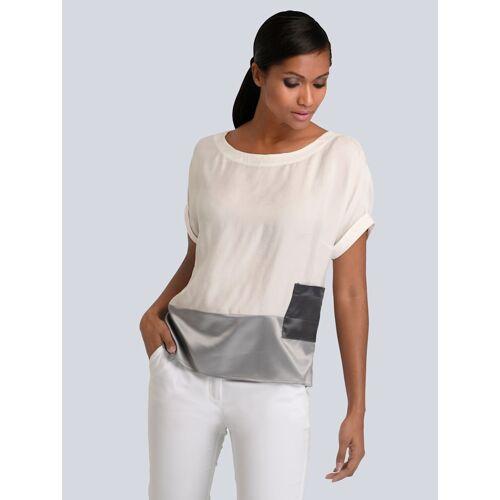 Alba Moda Bluse aus hochwertiger Ware, weiß