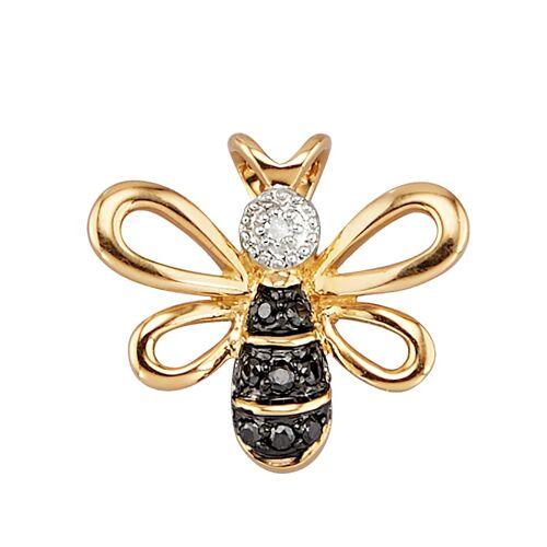 Diemer Diamant Bienen-Anhänger, multicolor