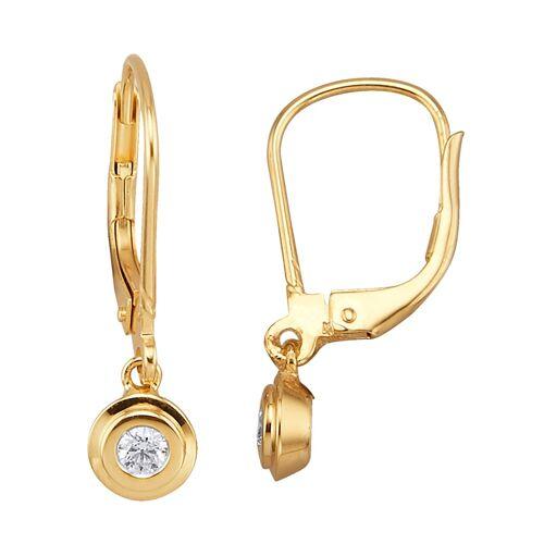 Diemer Highlights Ohrringe mit Brillant, gold