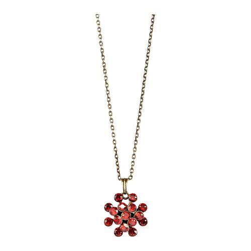 Konplott Collier mit Kristallen 5450543754932, rot