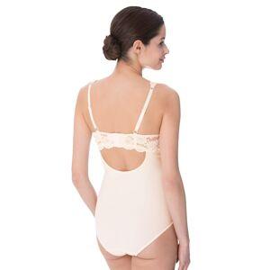 Sassa Moden Bügel - Body mit elastischer Spitze, weiß