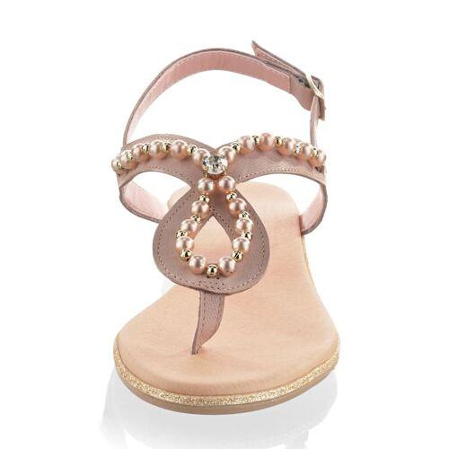 Alba Moda Infradtio mit Perlenverzierung, rosé