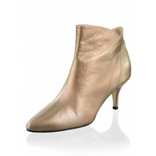 Alba Moda Stiefelette in metallic Optik, bronze